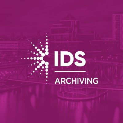 IDS Archiver Logo on purple background