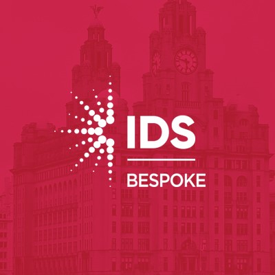 IDS Bespoke Solutions Logo on red background